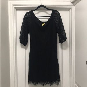 Off the Shoulder White House Black Market Dress